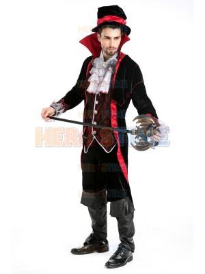 Deluxe Classic Mens Vampire Halloween Costume