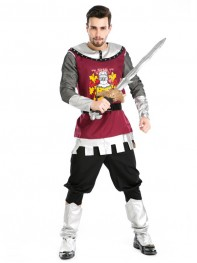 Deluxe Roman Gladiators Halloween Knight Fancy Costume