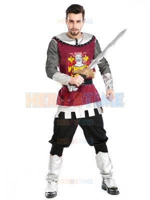 Deluxe Roman Gladiators Halloween Knight Fancy Costume