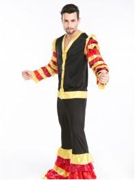 Fashion Gypsy Clown Halloween Fancy Costume
