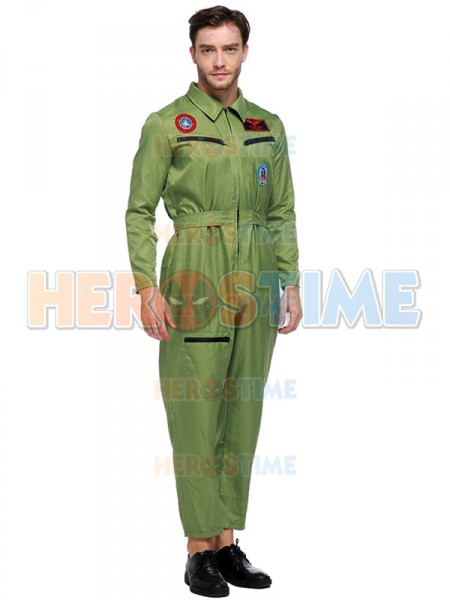 ... Fashion Mens Pilot Uniform Adult Airline Pilot Halloween Costume  sc 1 st  Herostime.com & Mens Pilot Uniform Adult Airline Pilot Halloween Costume