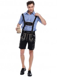 German Oktoberfest Beer Men Halloween Fancy Costume