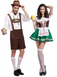 Halloween Costume Party Costume Beer Festival Couples Costume