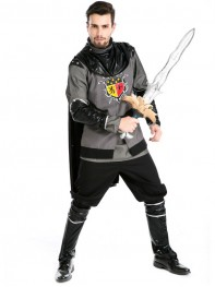 Mens Adult Viking Warrior Greek Kings Halloween Costume
