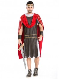 Newest Roman Gladiators Mens Halloween Costume