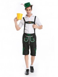 Vintage Oktoberfest Beer Men Halloween Cosplay Costume