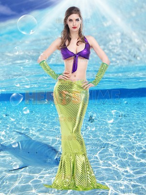 2017 Sexy Mermaid Womens Disney Princess Halloween Fancy Dress