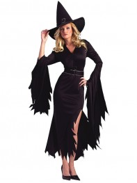 Halloween Costumes Lady's Demon Costume Irregular Hem Dress