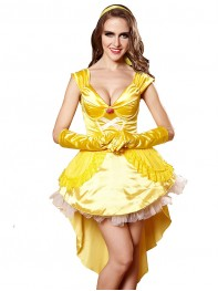 Ladies Gorgeous Princess Cosplay Costume Halloween Fancy Dress
