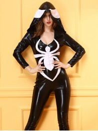 Women Spiderman Halloween Costume Venom Fancy Dress