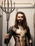 2018 Aquaman Movie Version Tattoo Cosplay Shirt