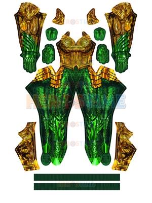 Aquaman Film Suit Aquaman Female Shade Cosplay Costume