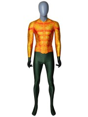 Aquaman Movie Suit Newest Aquaman Cosplay Costume NO Mask