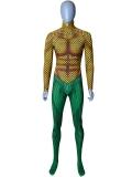 Classic Aquaman DC Comics Male Superhero Costume