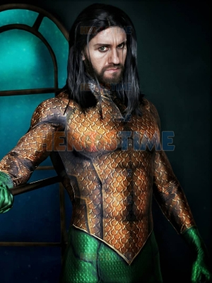 Aquaman Suit Classic Aquaman Skin Cosplay Costume