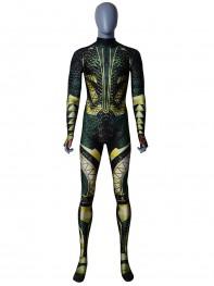 Justice League Aquaman Printing Superhero Cosplay Costume