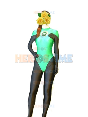 DC Comics Green Lantern Spandex High Thong Superhero Costume