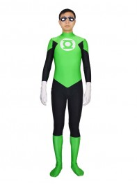 Green Lantern Spandex Superhero Costume - In Stock