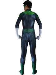 Movie Green Lantern Costume 3D Cosplay Suit
