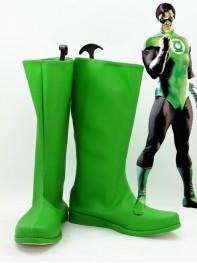 Green Lantern JLA Superhero Green Boots