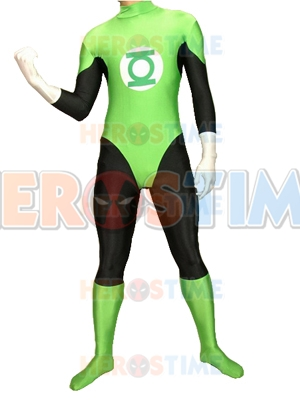 Green Lantern Spandex/Lycra Superhero Costume