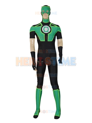 2016 New Style Green Lantern Short Sleeves Superhero Costume