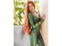 Mera Aquaman Movie Version Printing Cosplay Costume