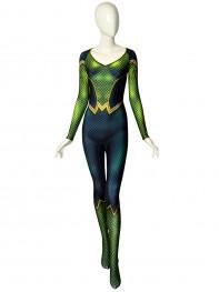 Mera Comics Version DyeSub Printing Cosplay Costume