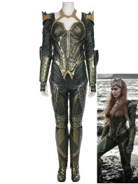 Mera Costume Justice League Version Mera Armor Costume