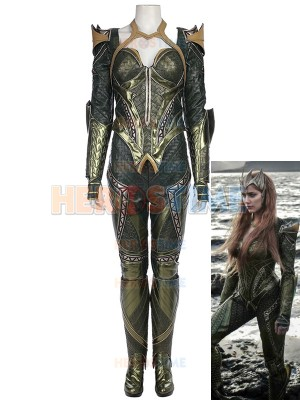 Mera Costume Justice League Version Mera Armor Costume