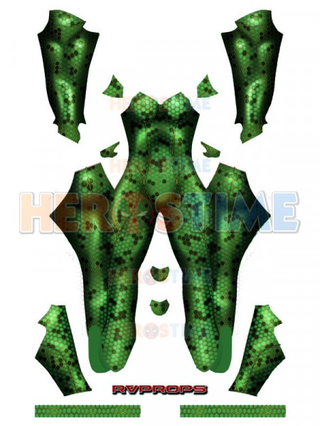 Mera Suit 2018 Aquaman Movie Mera Cosplay Costume