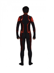 Black & Red DC Comics Superman Superhero Costume