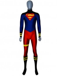 Custom Made Superman Spandex Superhero Costume