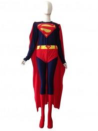 2014 New Style Superman Lycra Spandex Costume