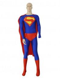 2014 New DC Comics Classic Superman Spandex Costume