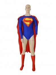 New Design Superman Spandex Superhero Jumpsuit