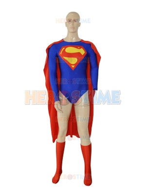 New Design Superman Spandex Superhero Jumpsuit