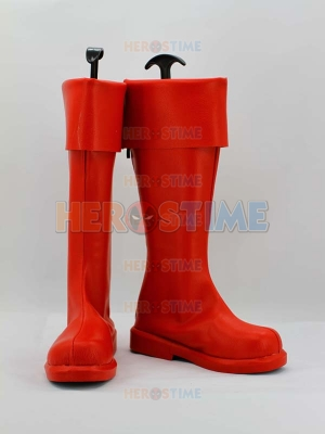Superman Man of Steel Red Superhero Boots
