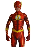 The New 52 Flash Costume 3D Shade Cosplay Suit