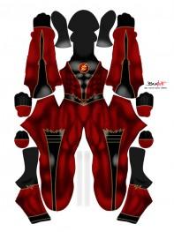 Flash Costume Flash Version Cosplay Costume No Mask