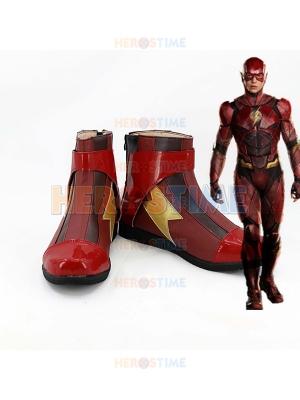 The Flash Superhero Cosplay Boots