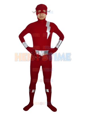 Newest The Flash Female Powerful Superhero Costume