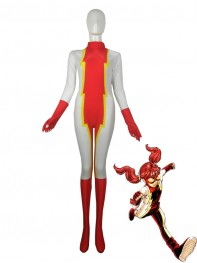 The Flash Iris West Impulse Superhero Spandex Costume
