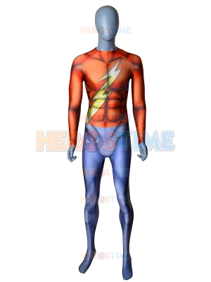 The Flash Jason Garrick Classic Mens Superhero Costume