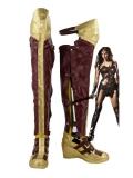 Batman v Superman: Dawn of Justice Wonder Woman Diana Cosplay Boots