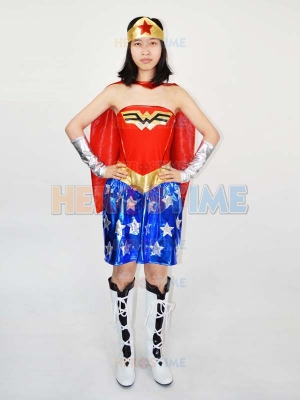 Wonder Woman Diana Superhero Costume
