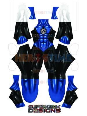 Blue Lantern Corps 3D Printed Blue Lantern Costume No Eyemask