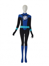 Blue Lantern Crops Custom Superhero Costume