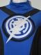 Blue Lantern Crops Custom Superhero Costume