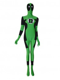 Green Lantern Deadpool Custom Superhero Costume